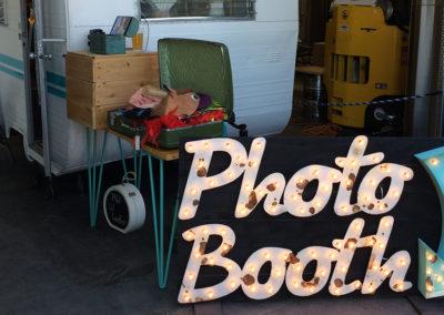Vintage Tin Photo Booth 10